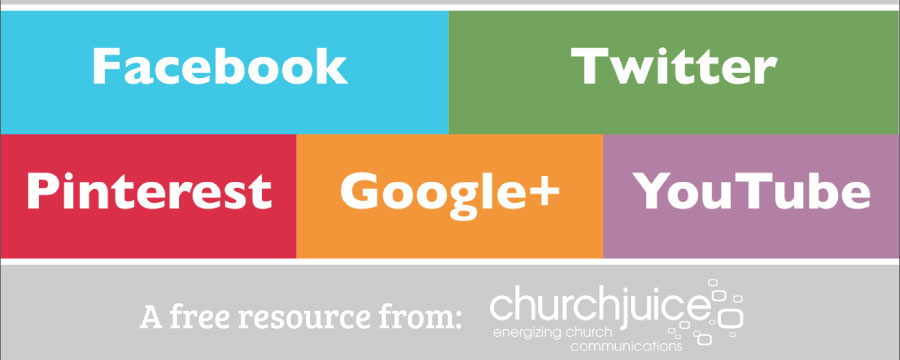 Church Juice: Social Media Image Sizing Guide
