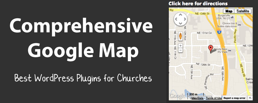 Best Church WordPress Plugin: Comprehensive Google Map Plugin