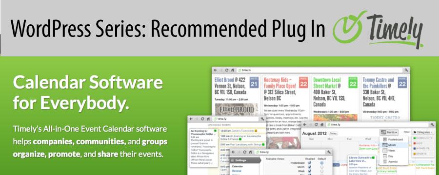 WordPress Series: Time.ly Calendar Plug In