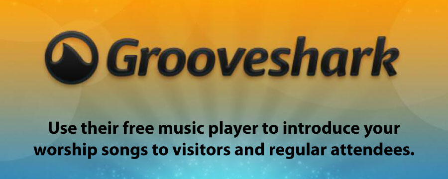 Website Tools: GrooveShark Player